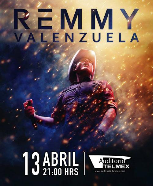 Remmy Valenzuela - 13 de Abril @ Auditorio Telmex