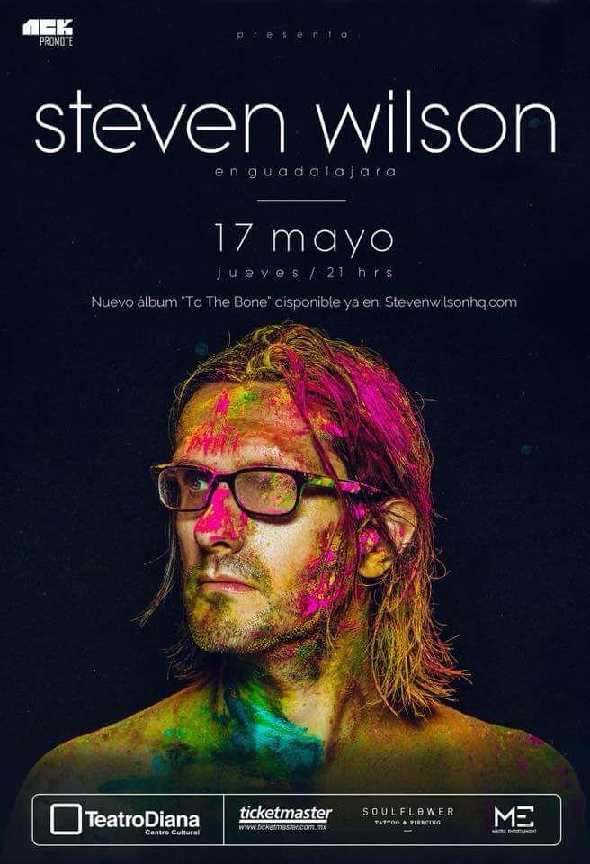 Steven Wilson - 17 de Mayo @ Teatro Diana