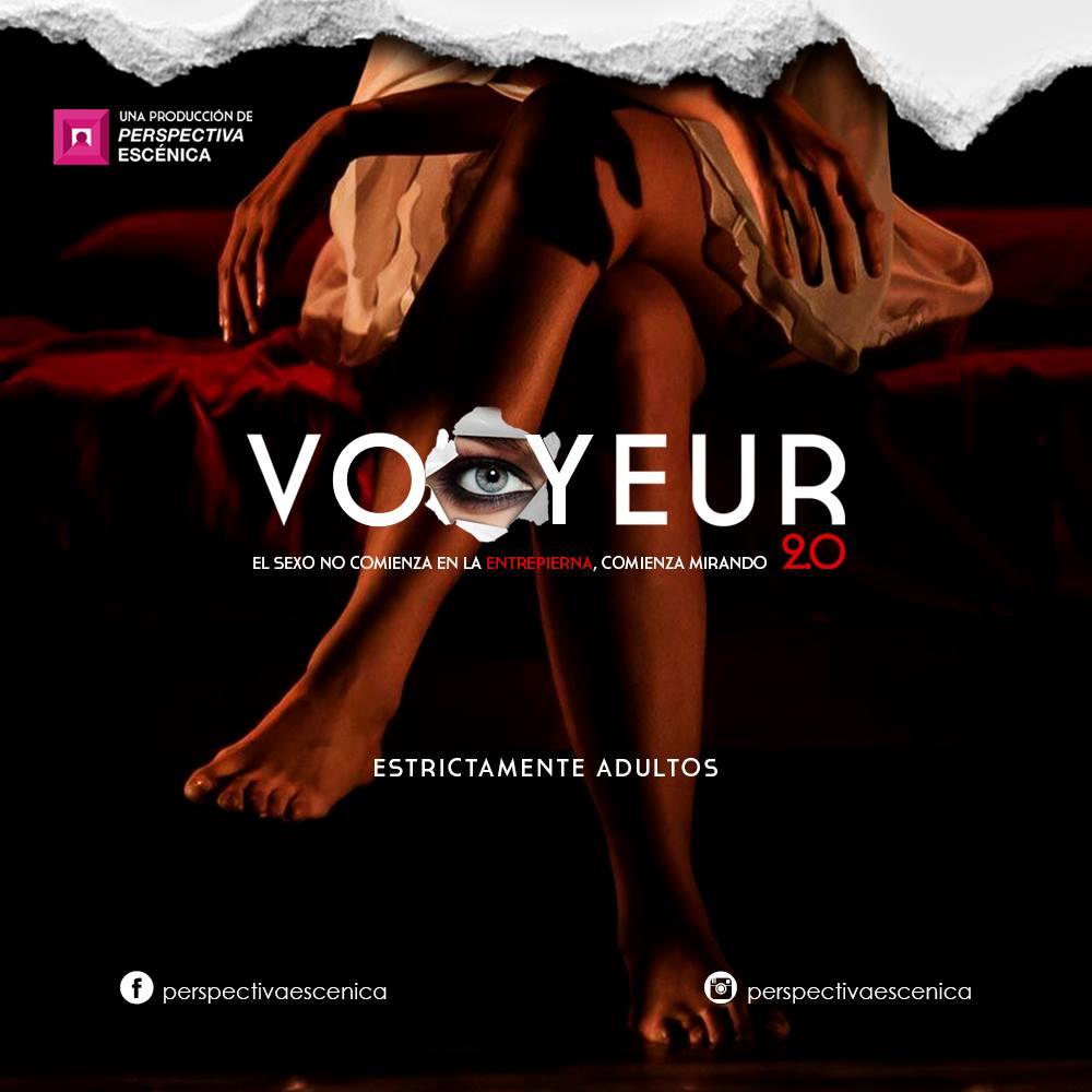 Vooyeur 2.0 - Segunda Temporada Abril, en Teatro Experimental de Jalisco
