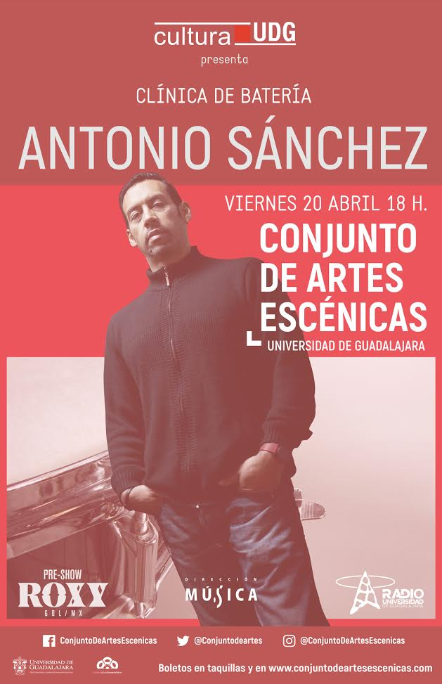 Antonio Sánchez - 20 de Abril @ Conjunto de Artes Escénicas