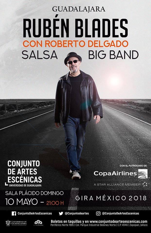 Rubén Blades - 10 de Mayo @ Conjunto de Artes Escénicas