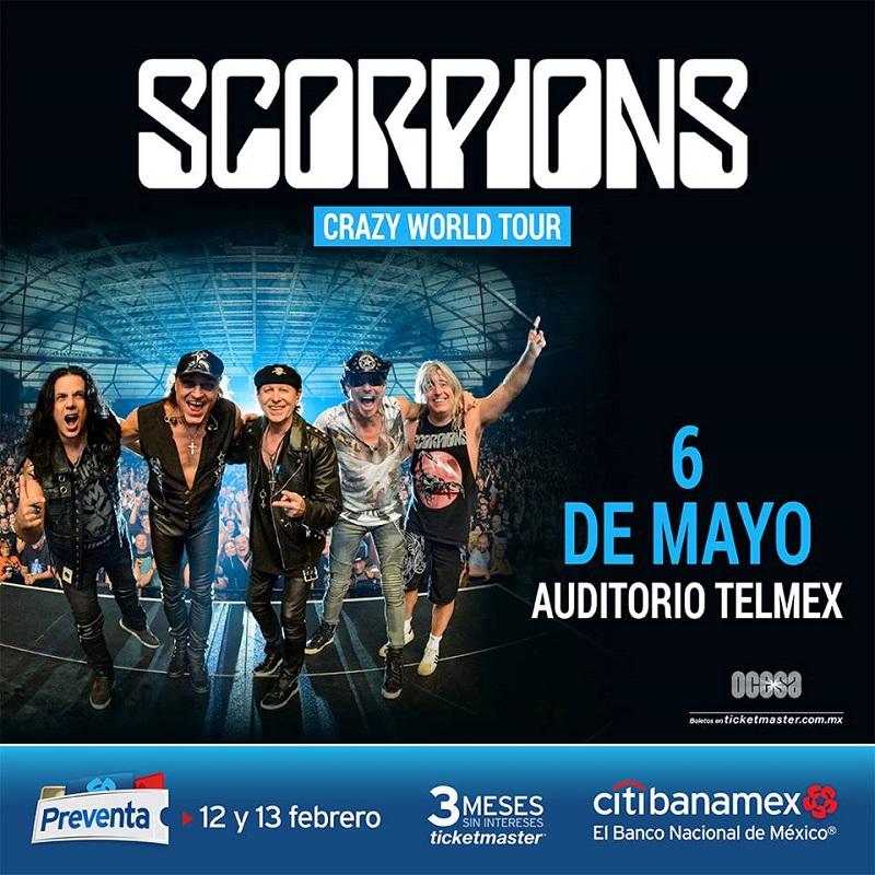 Scorpions - 6 de Mayo @ Auditorio Telmex