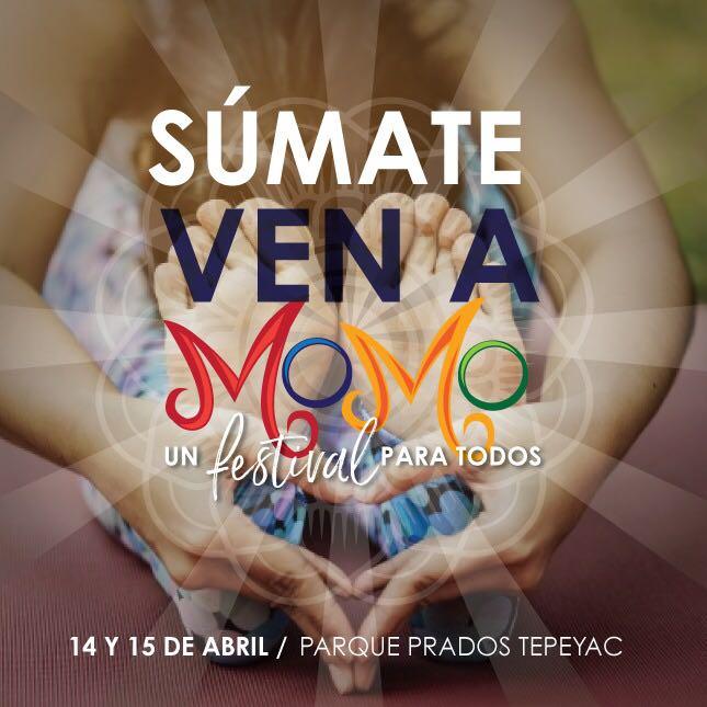Momo Festival, 14 y 15 de Abril en Parque Prados Tepeyac