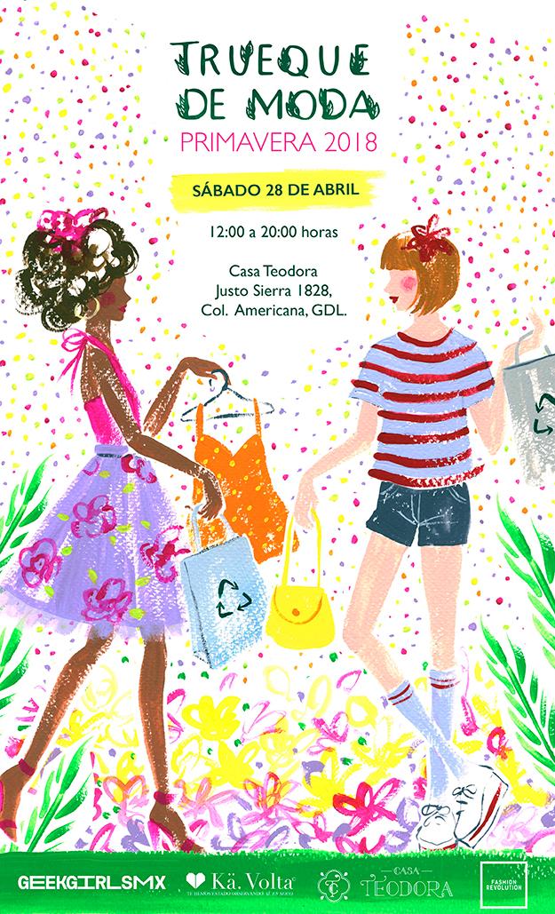 5ta Edición: Trueque de Moda, 28 de Abril en Casa Teodora