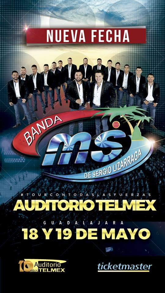 Banda MS - 18 y 19 de Mayo @ Auditorio Telmex