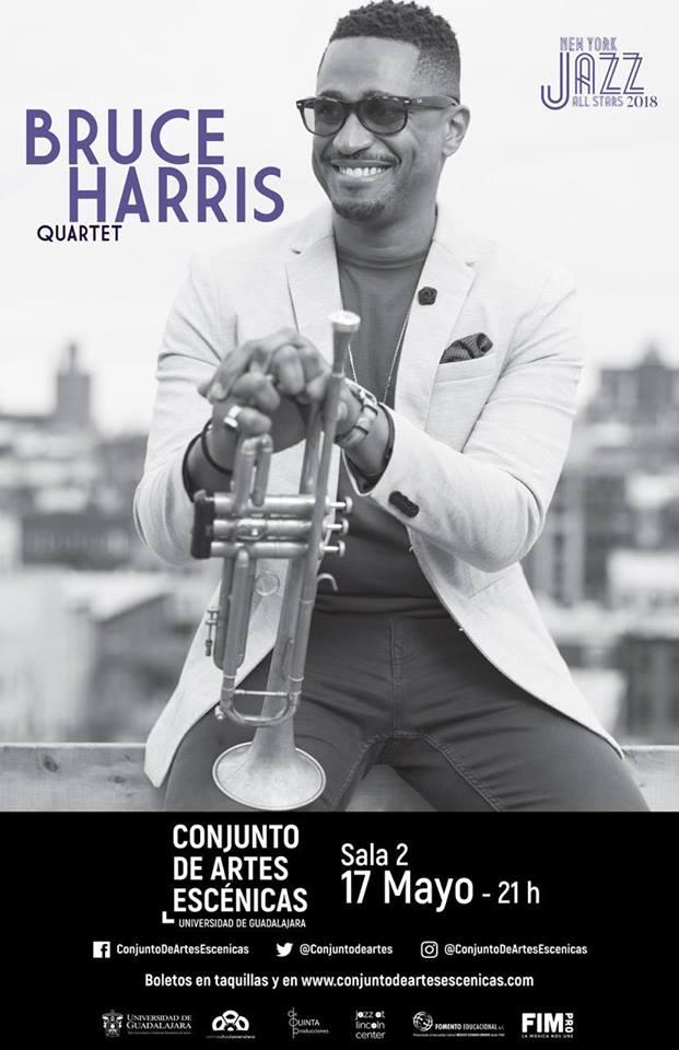 Bruce Harris Quartet - 17 de Mayo @ Conjunto de Artes Escénicas