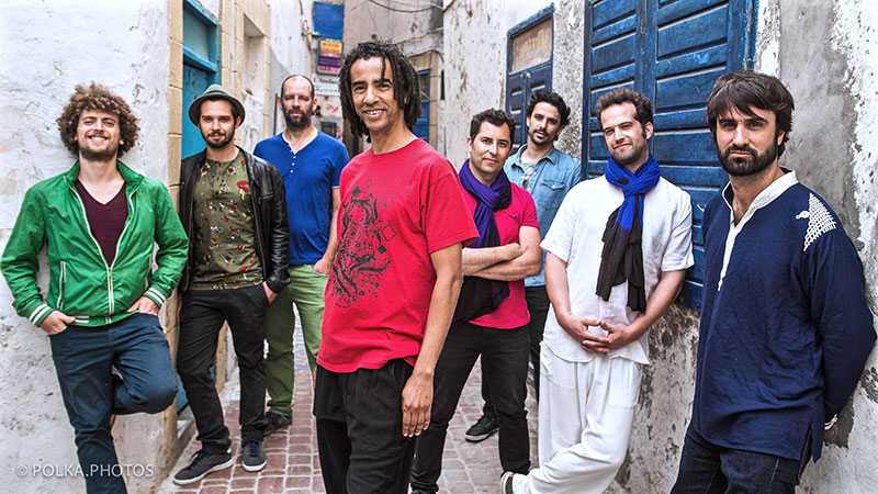 #FestivalDeMayo, Gabacho Maroc World Music - 18 de Mayo en Teatro Degollado