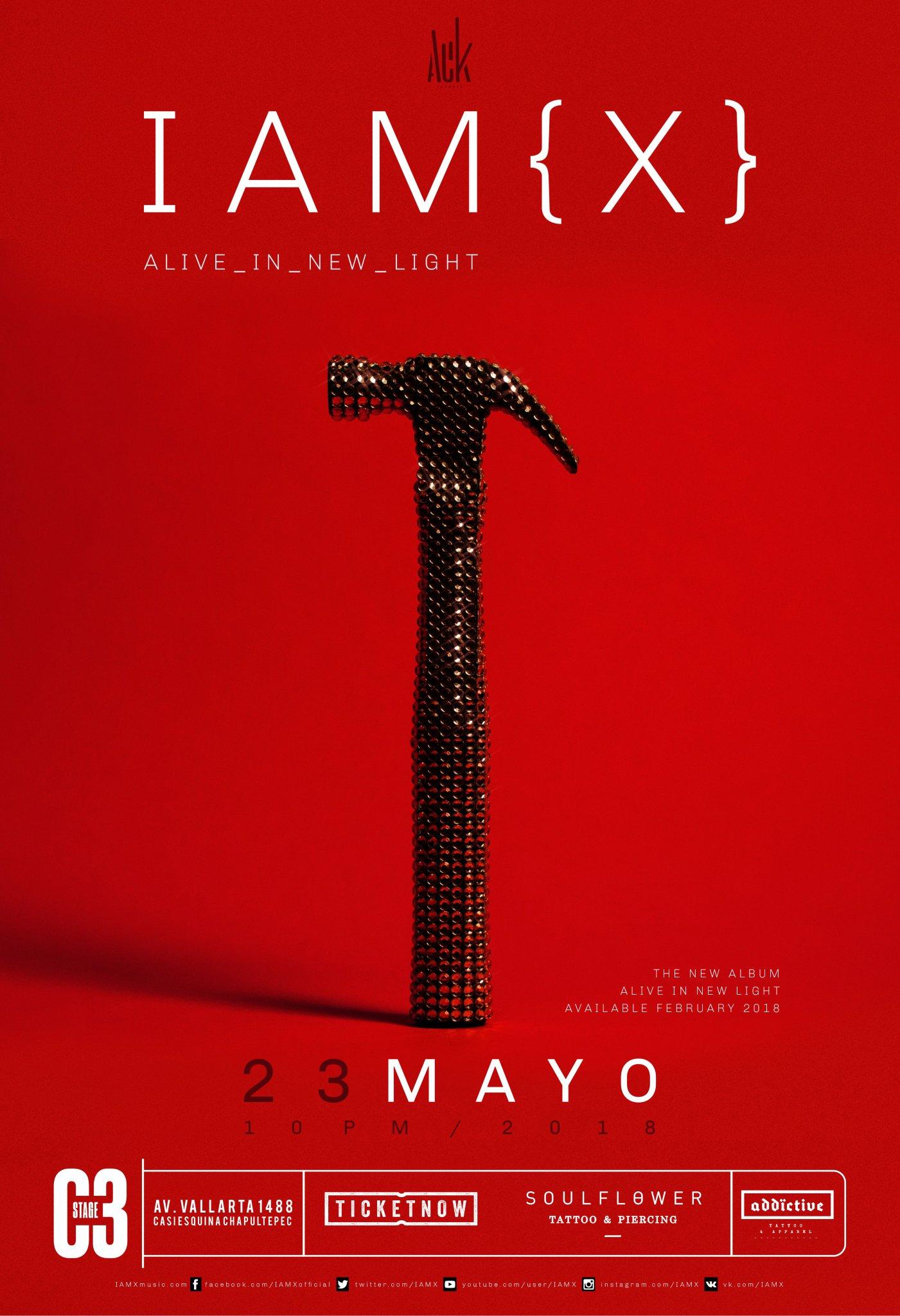 IAMX - 23 de Mayo @ C3 Stage