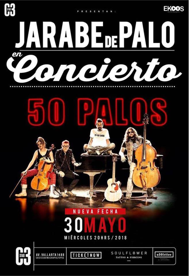 Jarabe de Palo - 30 de Mayo @ C3 Stage
