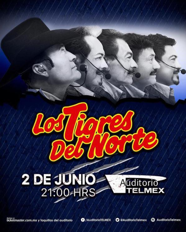 Los Tigres del Norte - 2 de Junio @ Auditorio Telmex