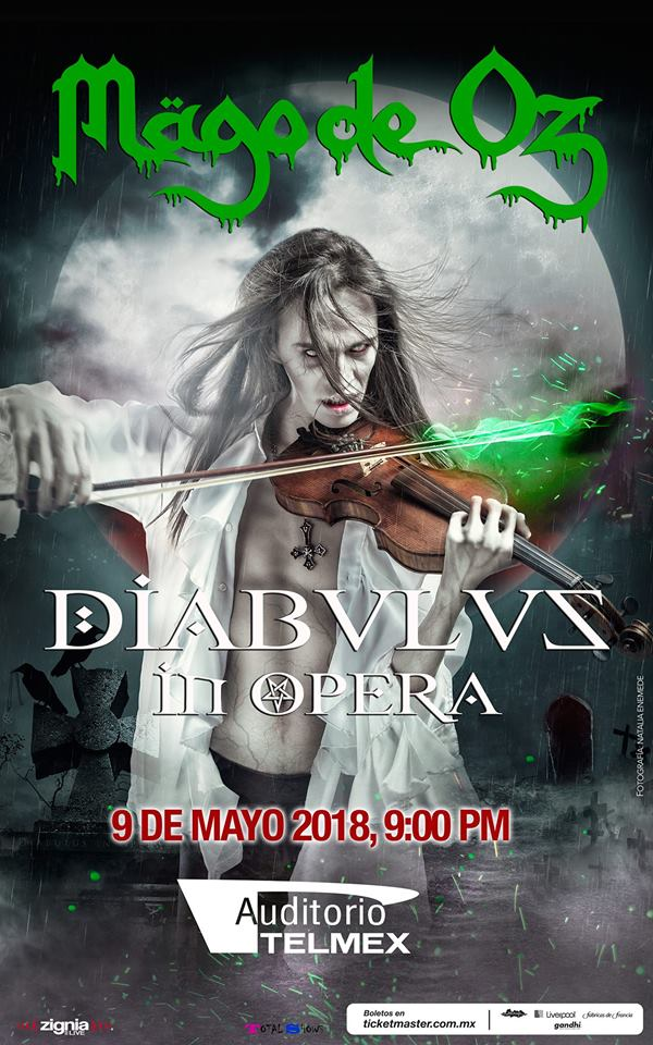 Mago de Oz - 9 de Mayo @ Auditorio Telmex
