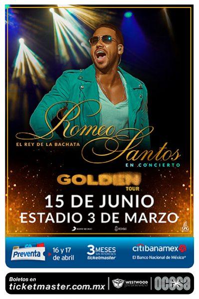 Romeo Santos - 15 de Junio @ Estadio 3 de Marzo