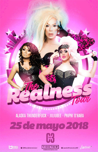 The Realness Tour - 25 de Mayo C3 Stage