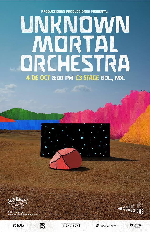 Unknown Mortal Orchestra - 4 de Octubre @ C3 Stage