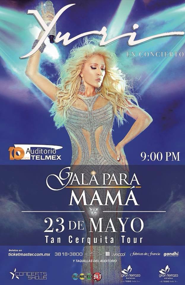 Yuri - 23 de Mayo @ Auditorio Telmex