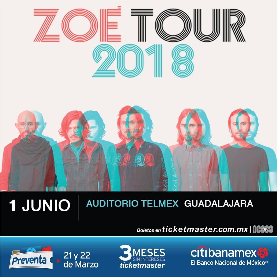 Zoé - 1 de Junio @ Auditorio Telmex