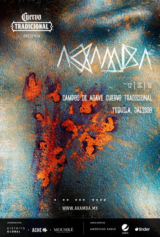 AKAMBA - 12 de Mayo @ Campos de Agave Cuervo Tradicional