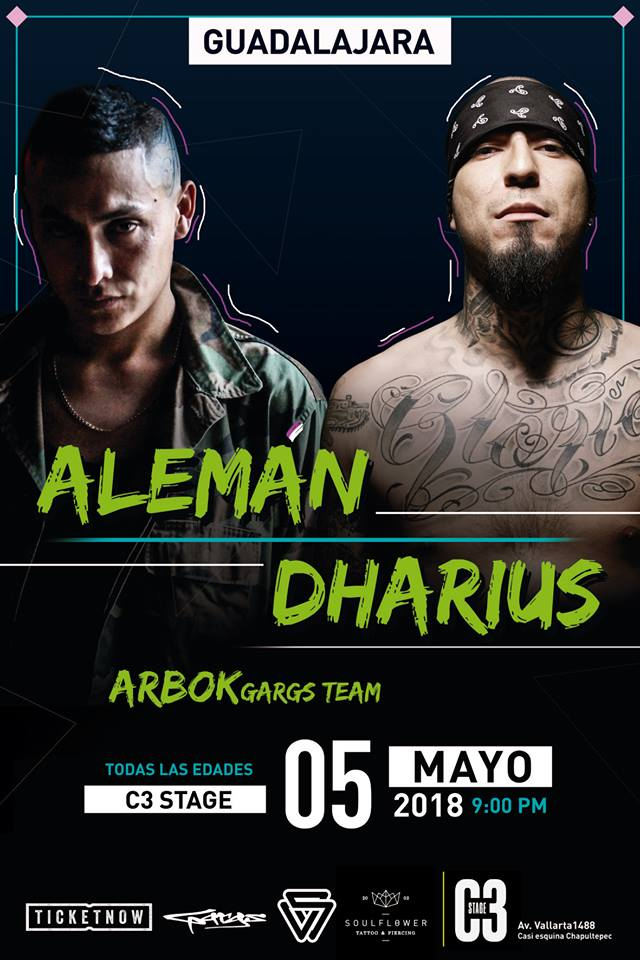 Alemán & Dharius - 5 de Mayo @ C3 Stage