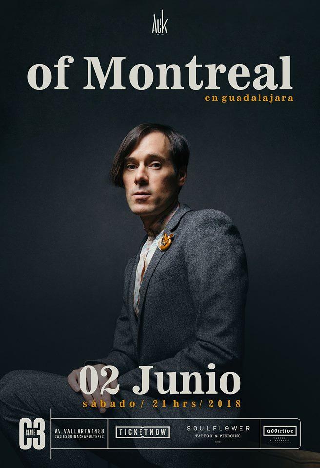 Of Montreal - 2 de Junio @ C3 Stage