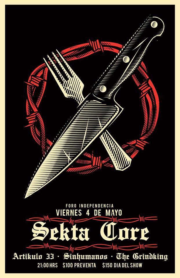 Sekta Core - 4 de Mayo @ Foro Independencia