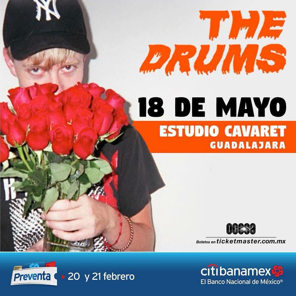 The Drums - 18 de Mayo @ Teatro Estudio Cavaret