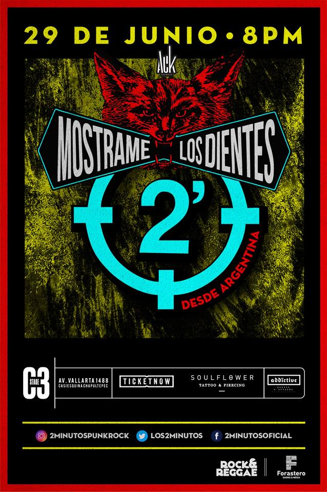 2 Minutos - 29 de Junio @ C3 Stage