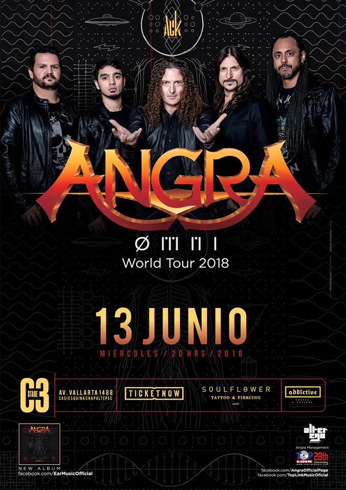 Angra - 13 de Junio @ C3 Stage