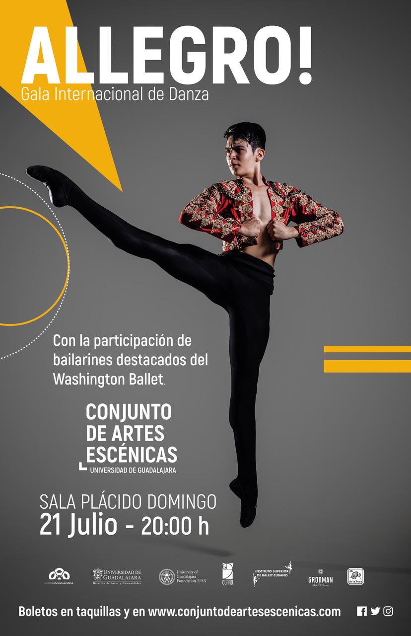 Allegro! - 21 de Julio en Conjunto de Artes Escénicas
