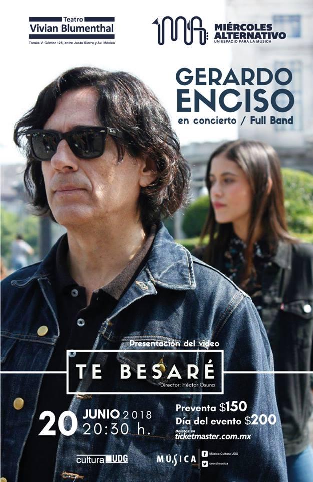 Gerardo Enciso - 20 de Junio @ Teatro Vivian Blumenthal