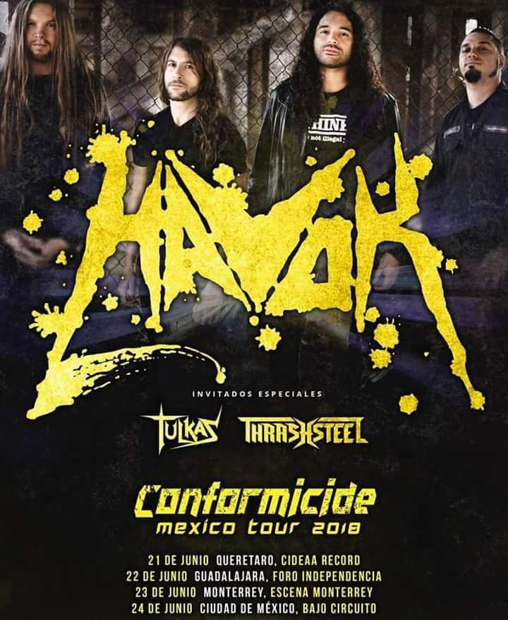 Havok - 22 de Junio @ Foro Independencia