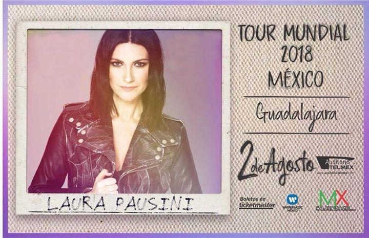 Laura Pausini - 2 de Agosto @ Auditorio Telmex