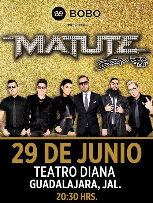 Matute - 29 de Junio @ Teatro Diana