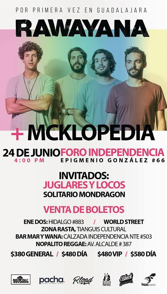 Rawayana & Mcklopedia - 24 de Junio @ Foro Independencia