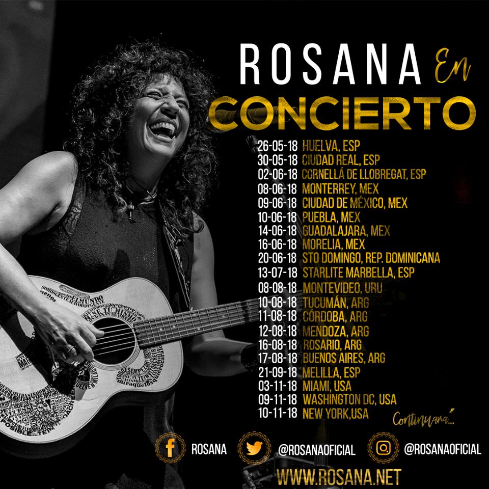 Rosana - 14 de Junio @ Teatro Alarife