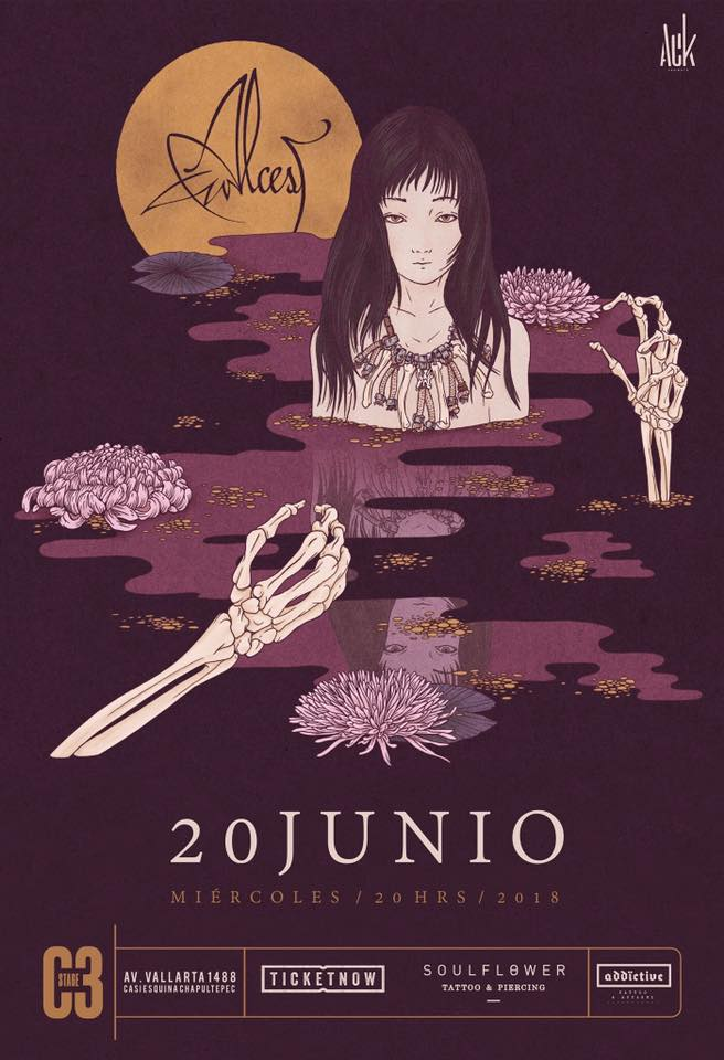 Alcest - 20 de Junio @ C3 Stage