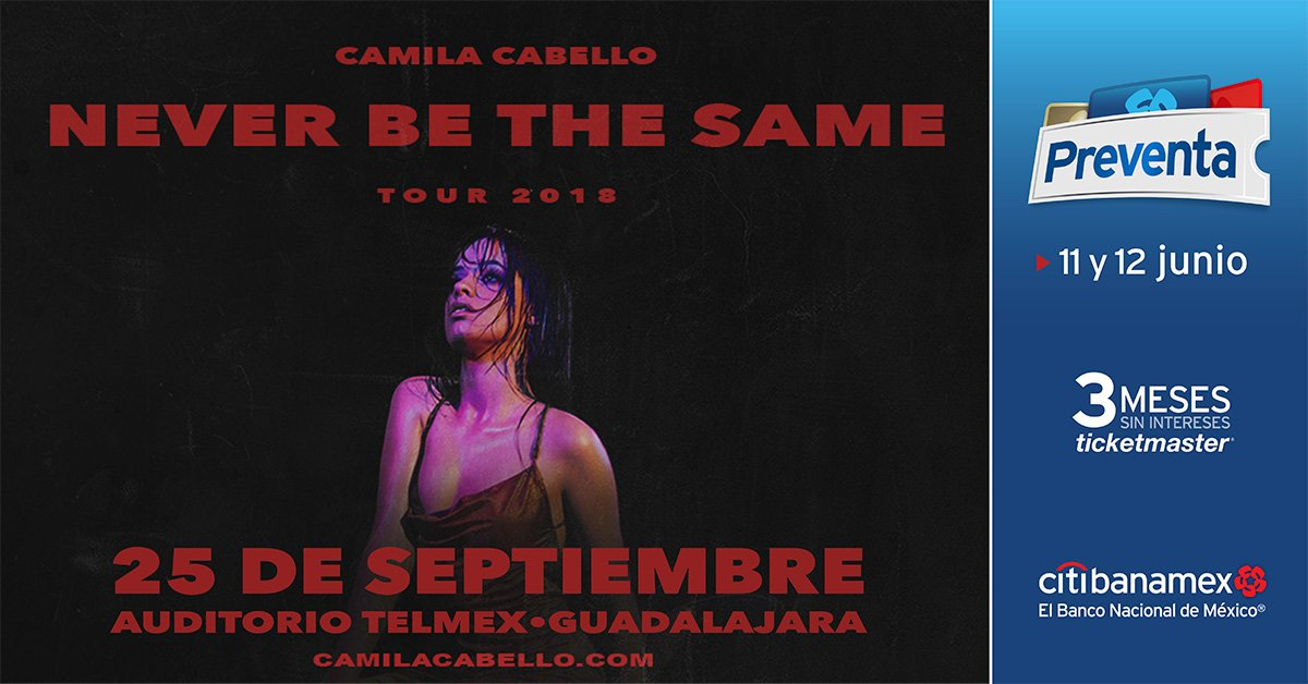 Camila Cabello - 25 de Septiembre @ Auditorio Telmex