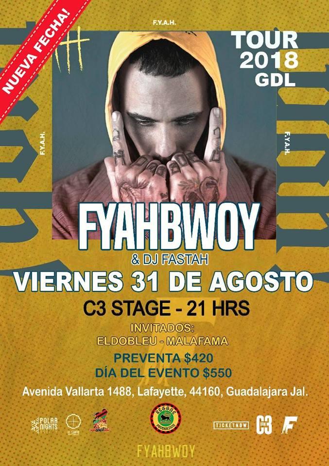 Fyahbwoy - 31 de Agosto @ C3 Stage