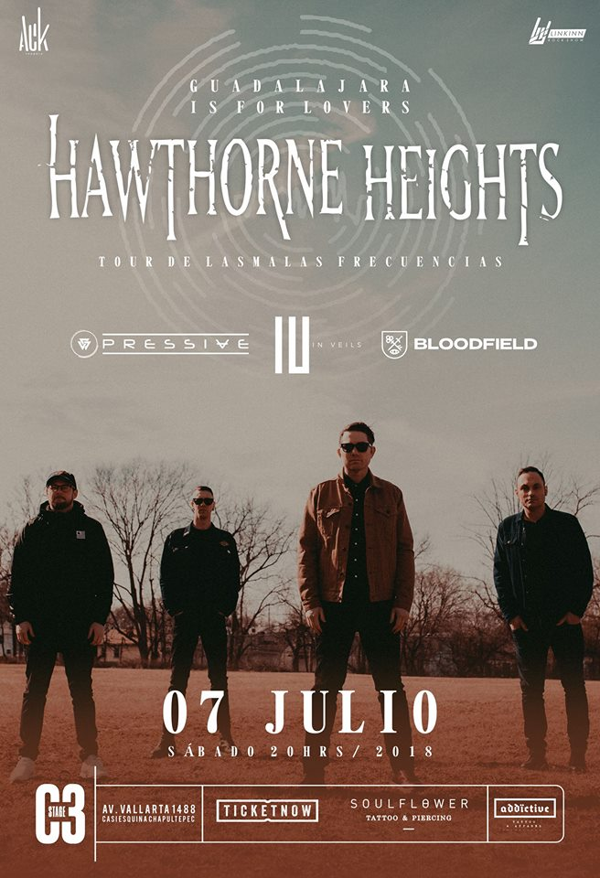 Hawthorne Heights - 7 de Julio @ C3 Stage