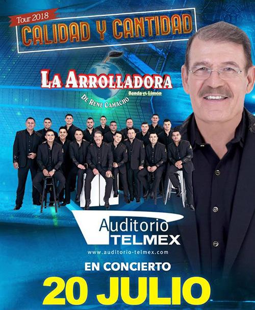 La Arrolladora Banda el Limón - 20 de Julio @ Auditorio Telmex