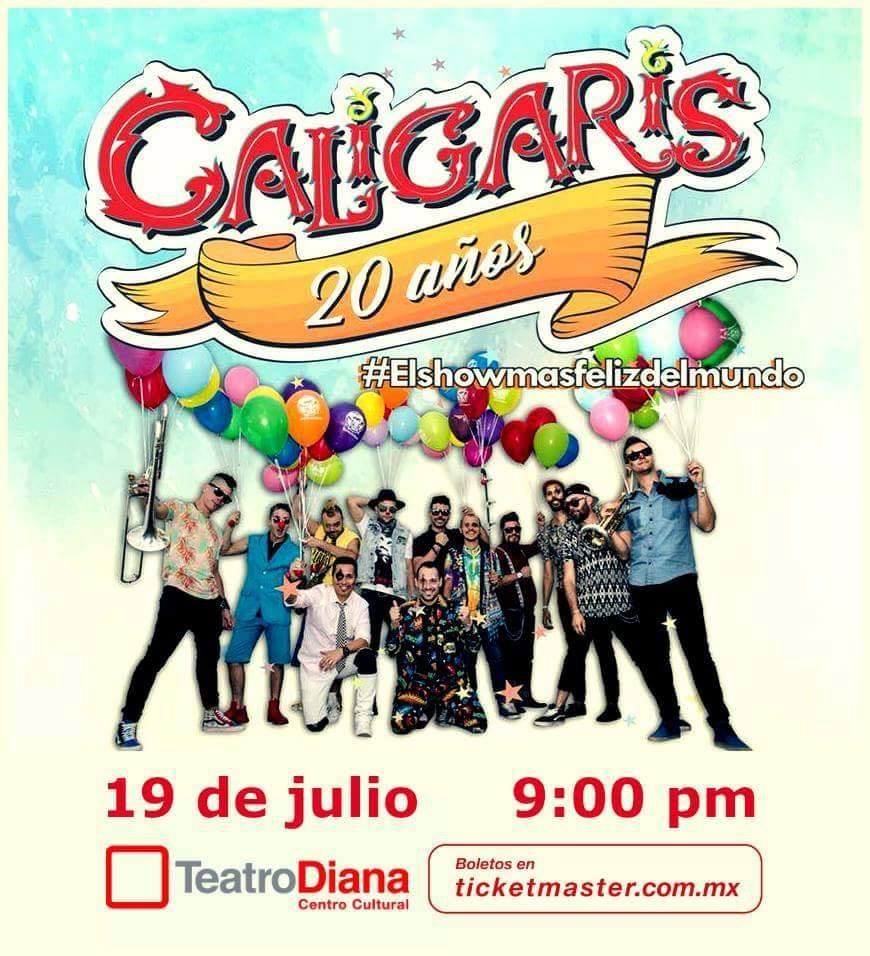 Los Caligaris - 19 de Julio @ Teatro Diana