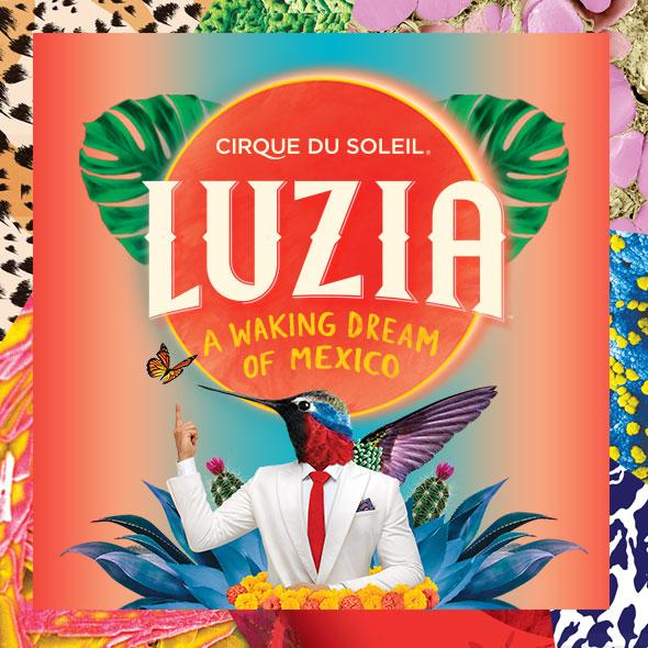 """""""Luzia"""", Cirque Du Soleil - Temporada 30 de Agosto al 16 de Septiembre en Carpa López Mateos"""