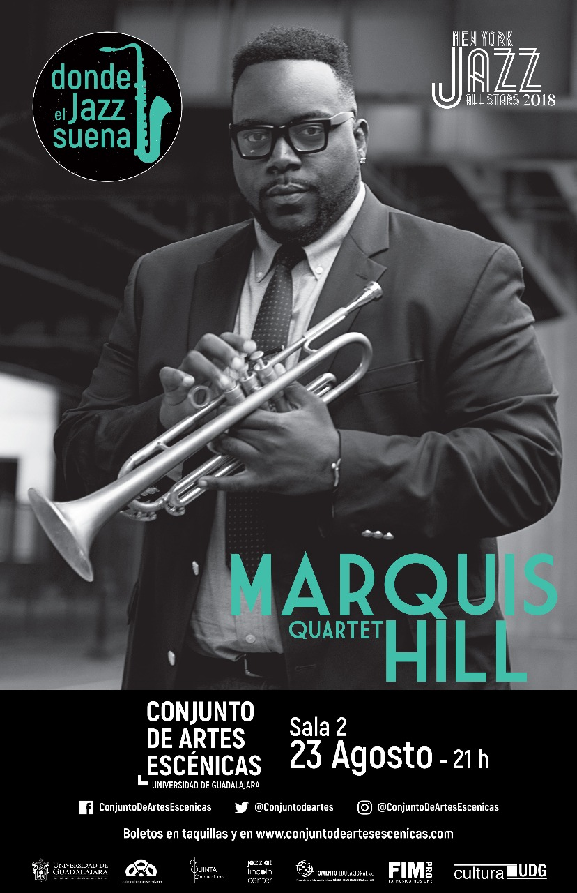 Marquis Hill Quartet - 23 de Agosto @ Conjunto de Artes Escénicas