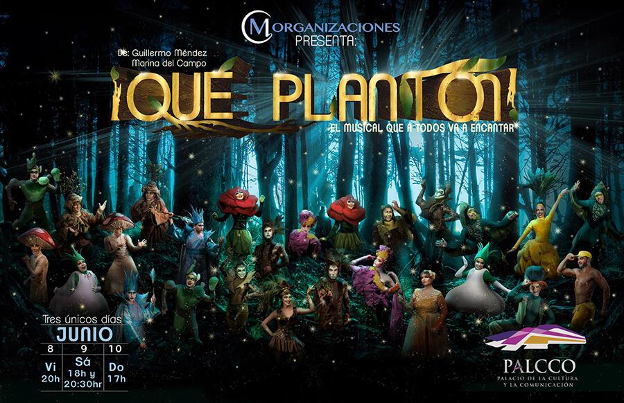 ¡Qué Plantón! - 8, 9 y 10 de Junio en PALCCO