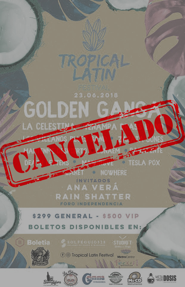 Tropical Latin Festival - CANCELADO