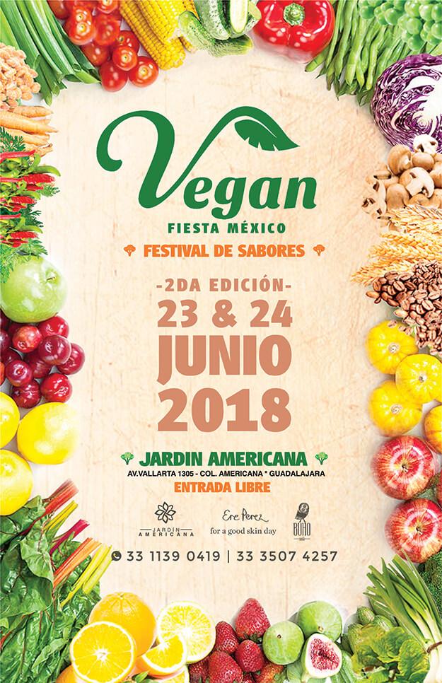 Vegan Fiesta Mx, 2da Edición - 23 y 24 de Junio en Jardín Americana