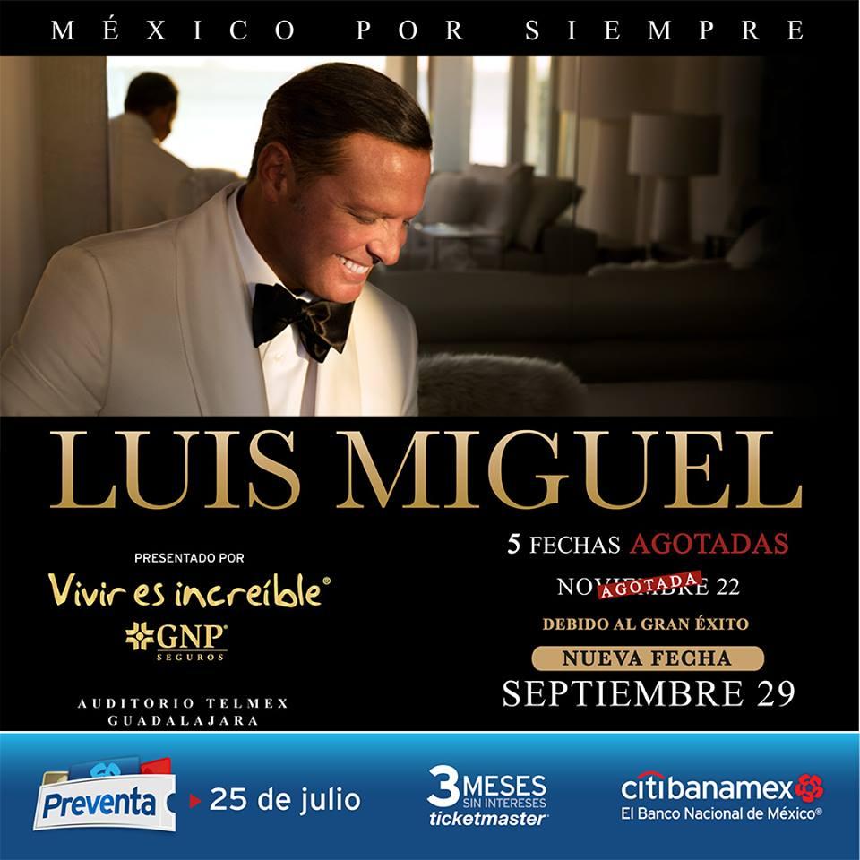 Luis Miguel - 29 de Septiembre @ Auditorio Telmex