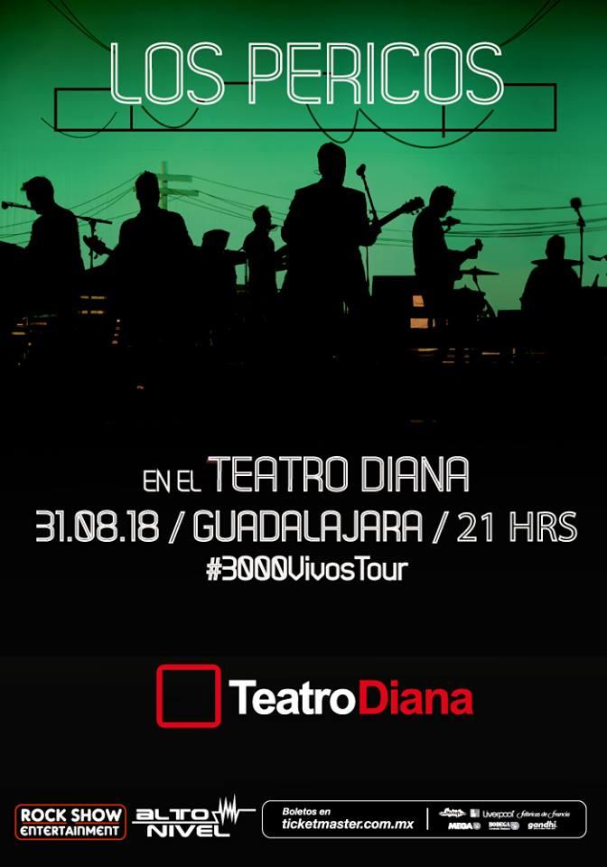 Los Pericos - 31 de Agosto @ C3 Stage