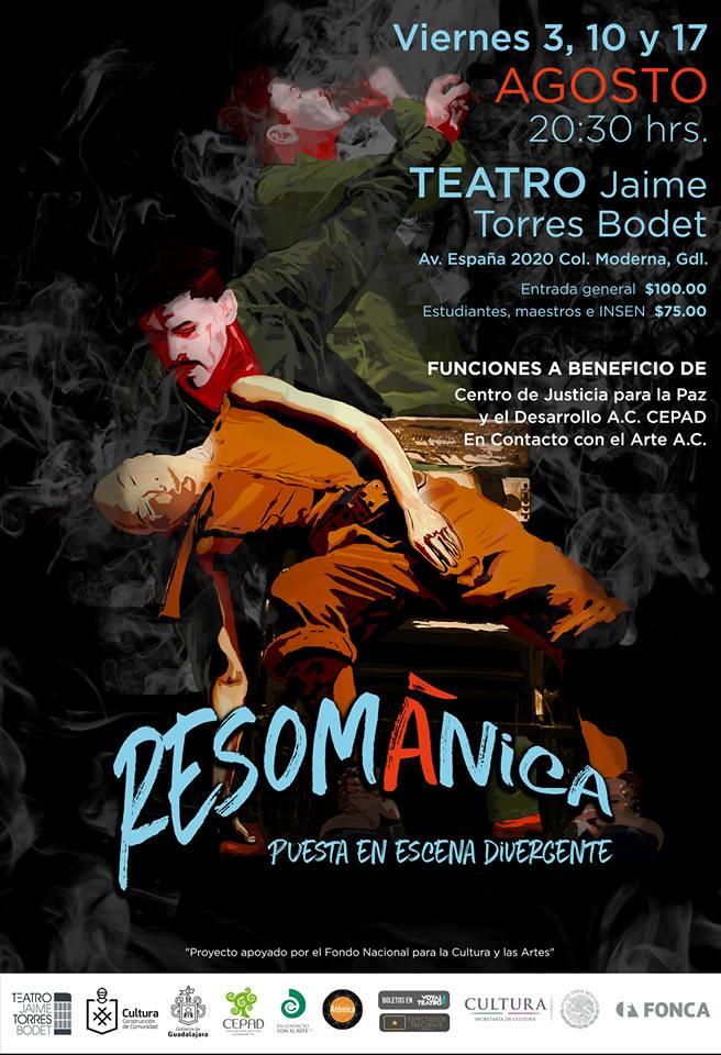 Resománica - 3, 10 y 17 de Agosto en Teatro Jaime Torres Bodet