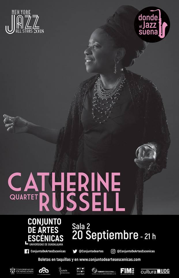 Catherine Russell Quartet - 20 de Septiembre @ Conjunto de Artes Escénicas