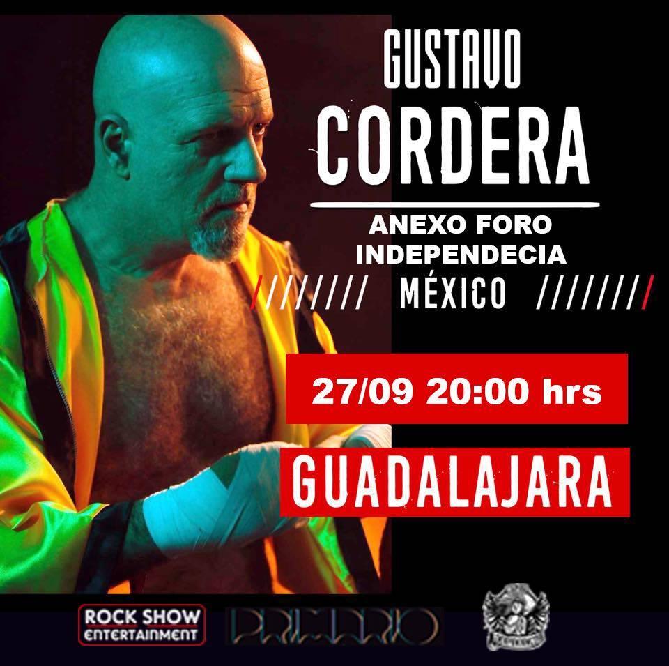 Gustavo Cordera - 27 de Septiembre @ Anexo Independencia
